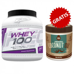 TREC Whey 100 1500g + TREC Better Choice Organic Coconut Oil 470g GRATIS!!!