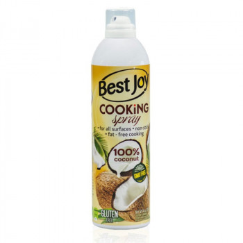 BEST JOY Cooking Spray 100% Coconut 397g Olej Kokosowy Do Smażenia