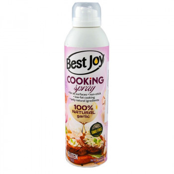 BEST JOY Cooking Spray 100% Natural Garlic 250ml Olej W Aerozolu Do Smażenia