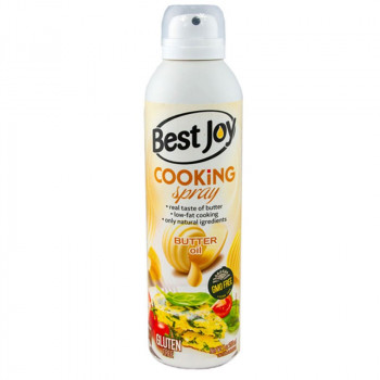 BEST JOY Cooking Spray Butter Oil 250ml Olej W Aerozolu Do Smażenia
