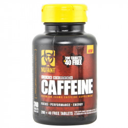 PVL Mutant Core Series Caffeine 240tabs