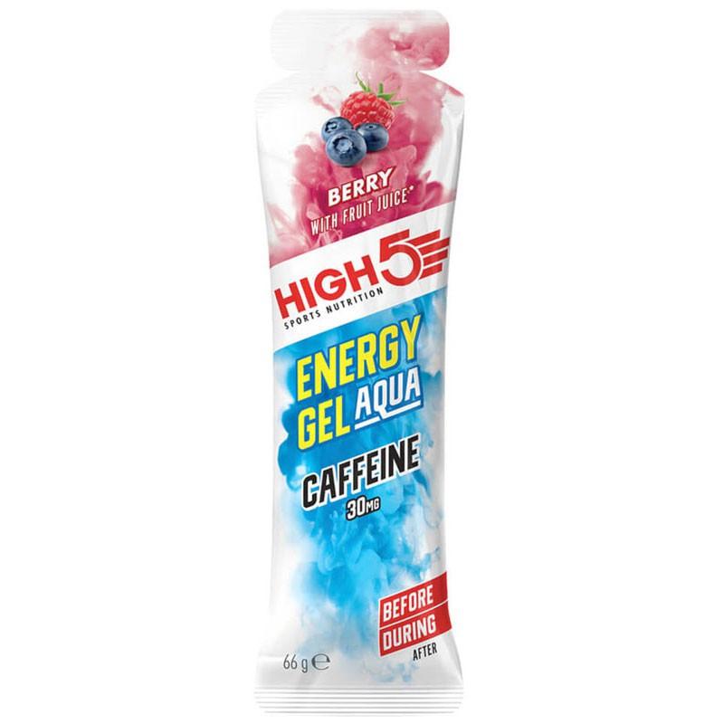 HIGH5 Energy Gel Aqua Caffeine 66g ZEL ENERGETYCZNY Z KOFEINA