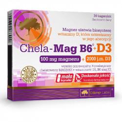 OLIMP Chela Mag B6+D3 30caps