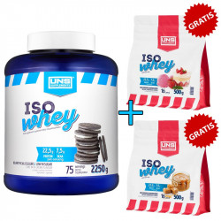 UNS Iso Whey 2250g + UNS Iso Whey 2x500g