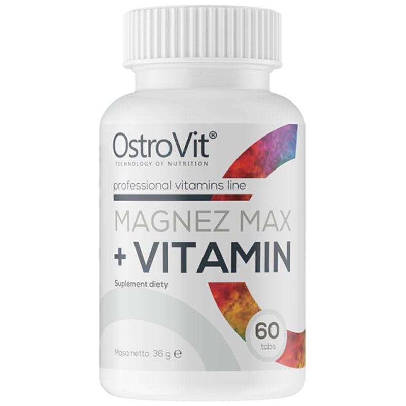 OSTROVIT Magnez Max+Vitamin 60tabs