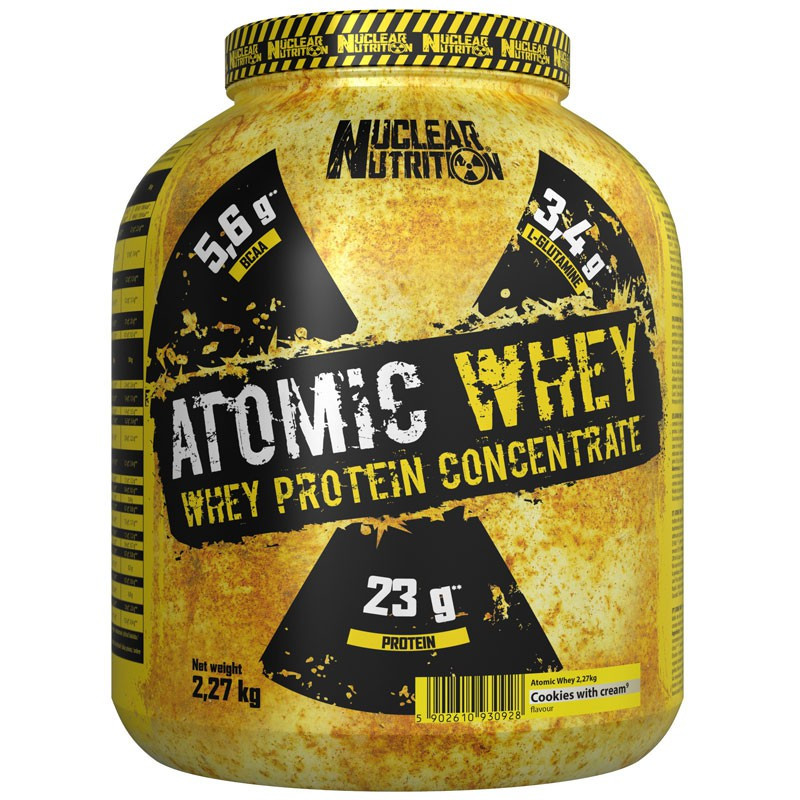 NUCLEAR NUTRITION Atomic Whey 2270g