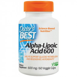 DOCTOR'S BEST Alpha-Lipoic Acid 600 60vegcaps