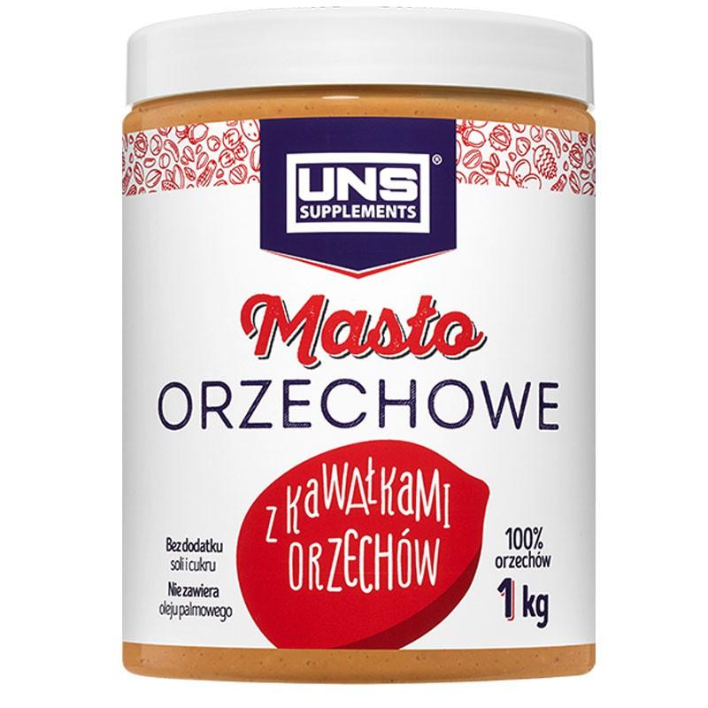 UNS Masło Orzechowe Z Kawałkami Orzechów 1000g PEANUT BUTTER