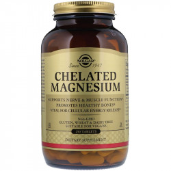SOLGAR Chelated Magnesium 250tabs