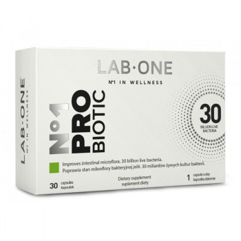 LAB ONE N°1 ProBiotic 30caps PROBIOTYK
