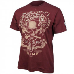 OLIMP Live And Fight Lost Rebels Black T-Shirt