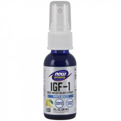 NOW IGF-1+ 30ml Deer Antler Velcet Extract 30ml