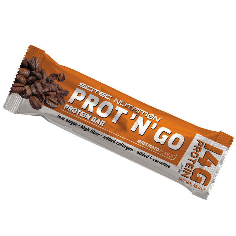 SCITEC Prot 'N' Go Protein Bar 45g BATON BIALKOWY
