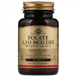 SOLGAR Folate 1,333mcg DFE 100tabs