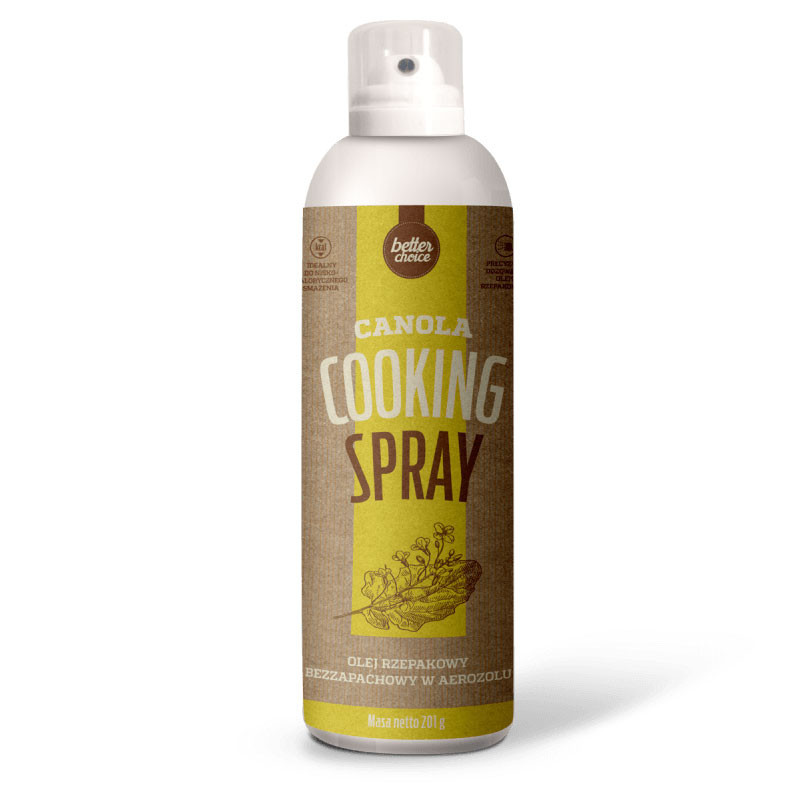 TREC Better Choice Canola Cooking Spray 201g