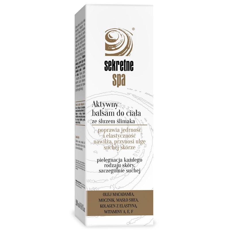 SEKRETNE SPA Aktywny Balsam Do Ciała 200ml