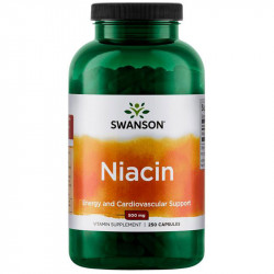 SWANSON Niacin 500mg 250caps