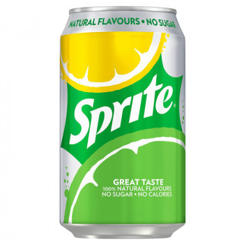 Sprite No Sugar 330ml BEZ CUKRU