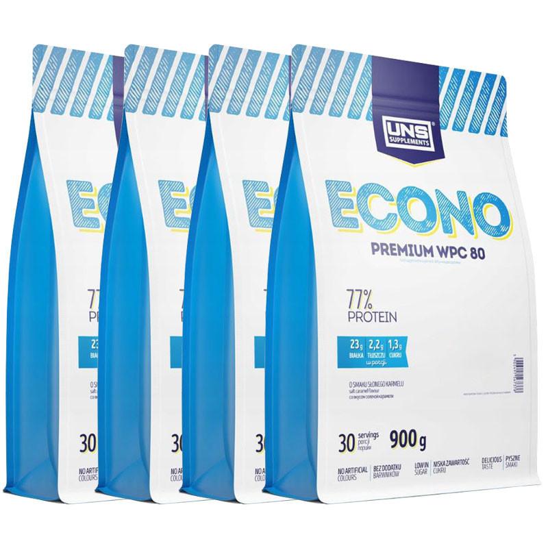 UNS Econo Premium Wpc 80 4x900g