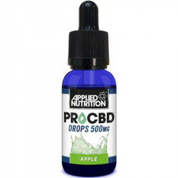 APPLIED NUTRITION Pro Cbd Drops 500mg 30ml OLEJ KONOPNY