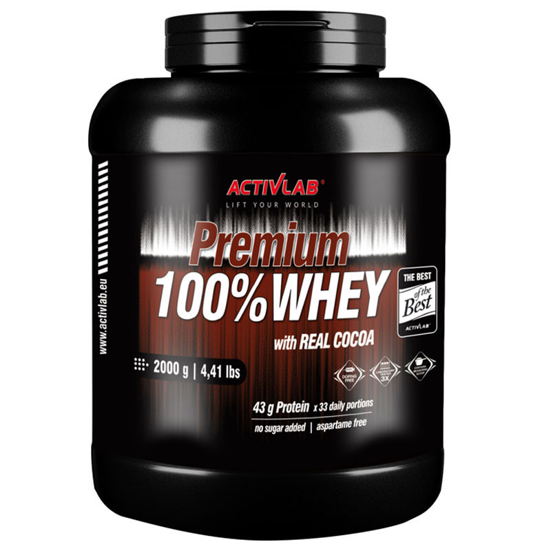ACTIVLAB Premium 100% Whey 2000g