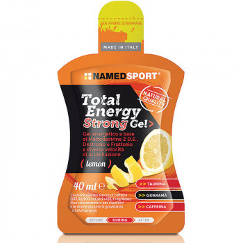 NAMEDSPORT Total Energy Strong Gel 40ml ZEL ENERGETYCZNY Z KOFEINA