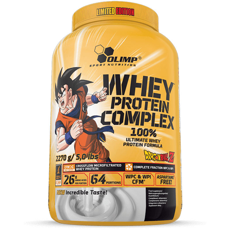whey protein complex 100 limited edition dragon ball. Black Bedroom Furniture Sets. Home Design Ideas