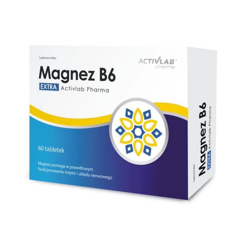 ACTIVLAB Magnez B6 60tabs