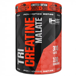 IRON HORSE Tri Creatine Malate 330caps