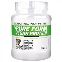 SCITEC Pure Form Vegan Protein 450g