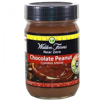 WALDEN FARMS Chocolate Peanut Spread 340g Masło Czekoladowo Orzechowe