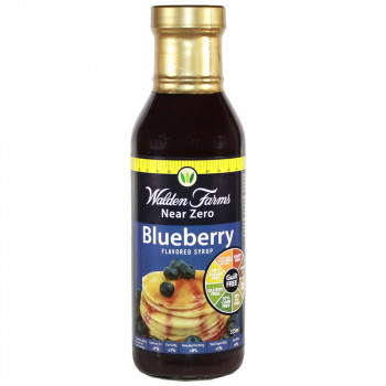 WALDEN FARMS Blueberry Syrup 355ml Syrop Jagodowy