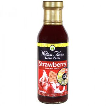 WALDEN FARMS Strawberry Syrup 355ml Syrop Truskawkowy