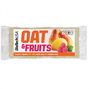 Biotech USA Oat&Fruits 70g PRZEKASKA OWSIANA