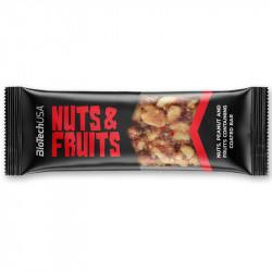 Biotech USA Nuts&Fruits 40g BATON OWOCOWY Z ORZECHAMI