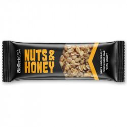 Biotech USA Nuts&Honey 35g BATON Z ORZECHAMI I MIODEM