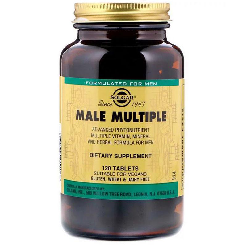 SOLGAR Male Multiple 120tabs