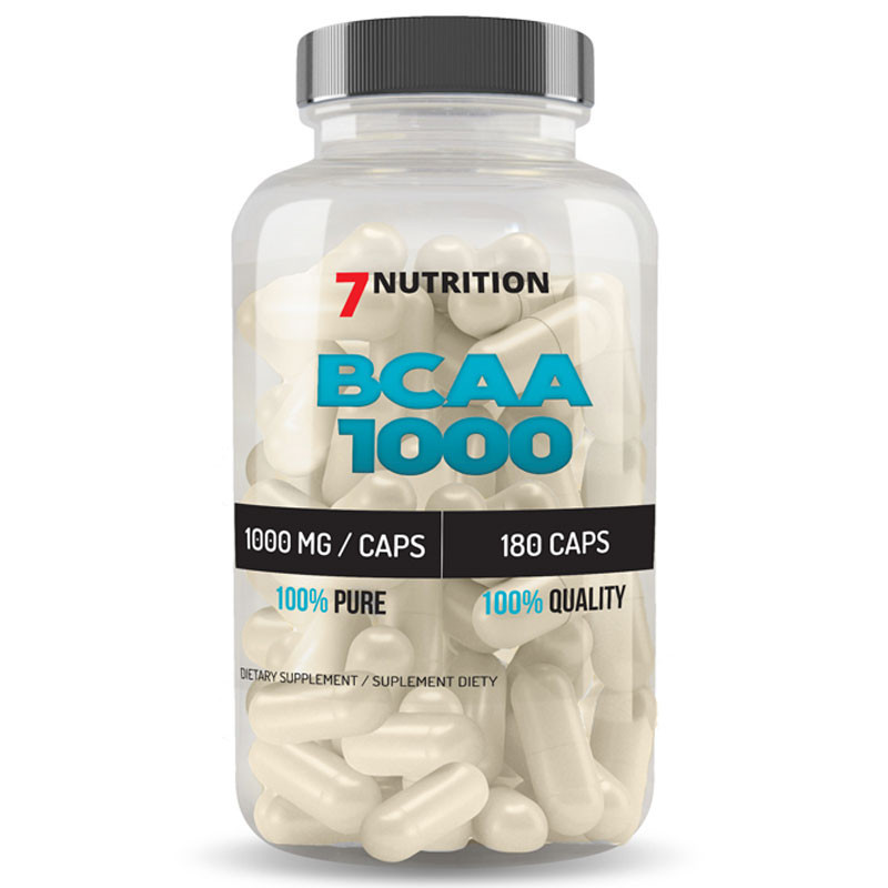 7NUTRITION BCAA 1000 180caps