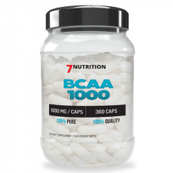 7NUTRITION BCAA 1000 360caps