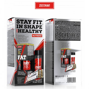 NUTREND Fat Direct 60caps + Multivitamin Compressed Caps 60caps ZESTAW