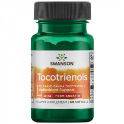 SWANSON Tocotrienols Delta And Gamma Tocotrienols From Annatto 50mg 60caps