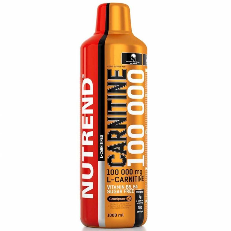 NUTREND Carnitine 100 000 1000ml L-KARNITYNA