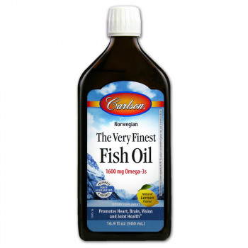 CARLSON Norwegian The Very Finest Fish Oil 1600mg Omega-3s 500ml