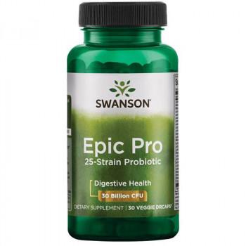SWANSON Epic Pro 25-Strain Probiotic 30vegcaps