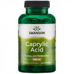 SWANSON Caprylic Acid 60caps