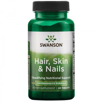 SWANSON Hair, Skin&Nails 60tabs