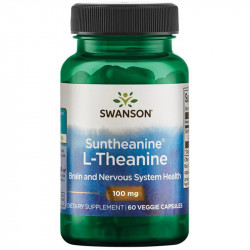 SWANSON Suntheanine L-Theanine 100mg 60vegcaps