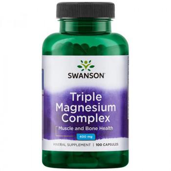 SWANSON Triple Magnesium Complex 400mg 100caps