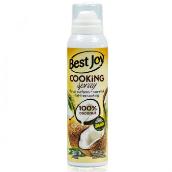 BEST JOY Cooking Spray 100% Coconut 100ml Olej Kokosowy Do Smażenia