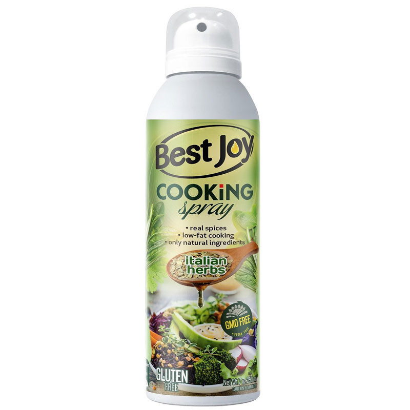 BEST JOY Cooking Spray Italian Herbs 250ml